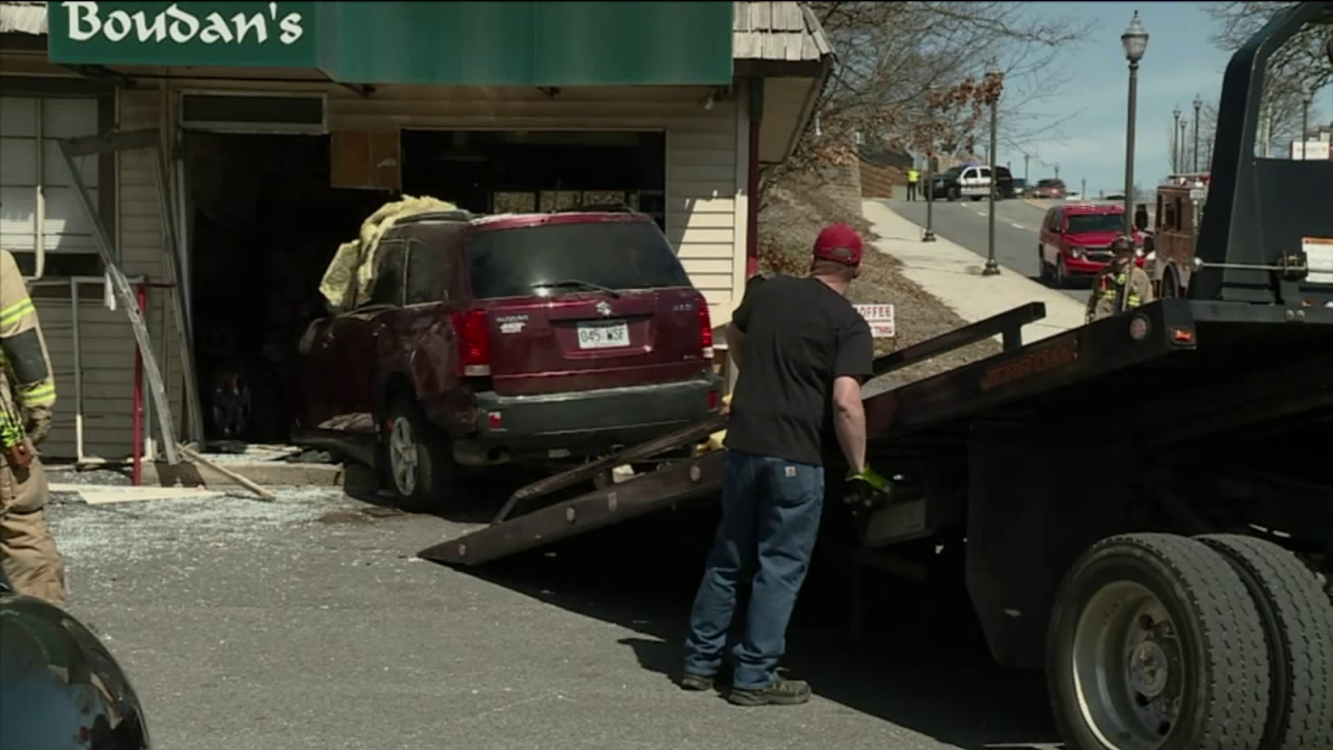GoFundMe Set Up After SUV Plows Into Fayetteville Cafe thumbnail