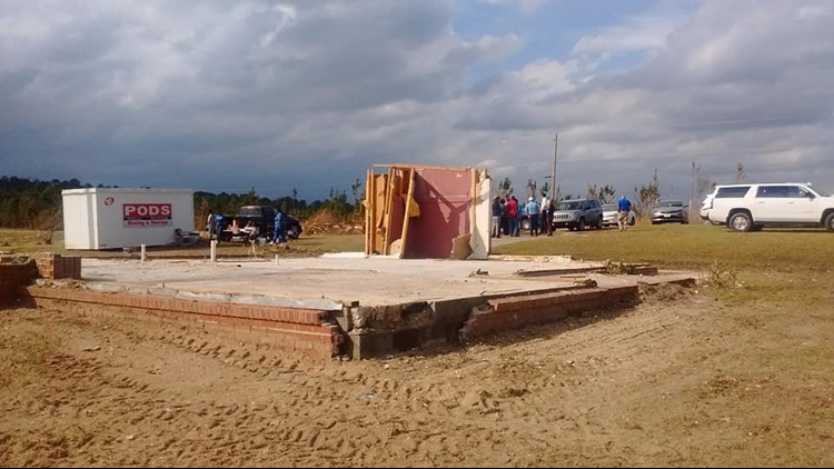 Grandmother's Prayer Closet Only Thing Left Standing After Tornado Demolishes Alabama Home thumbnail