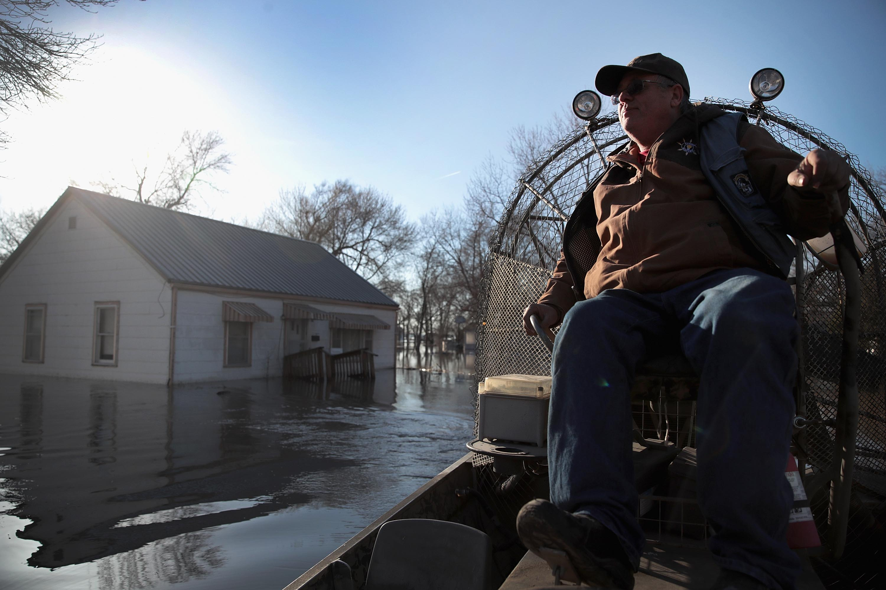 United States sees feed damage, livestock losses from flooding