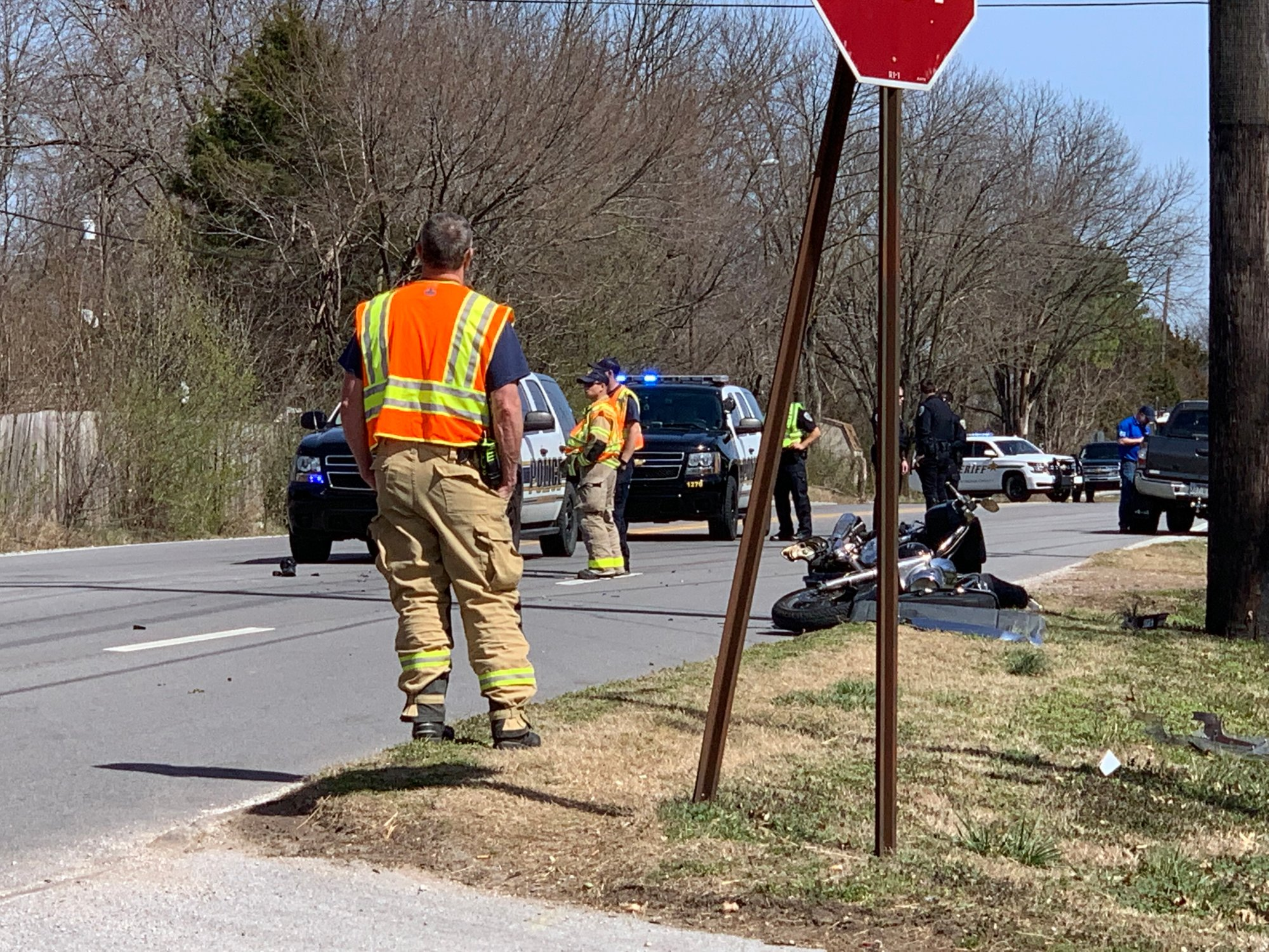 Emergency Crews Respond To Motorcycle Crash In Fayetteville | Fort