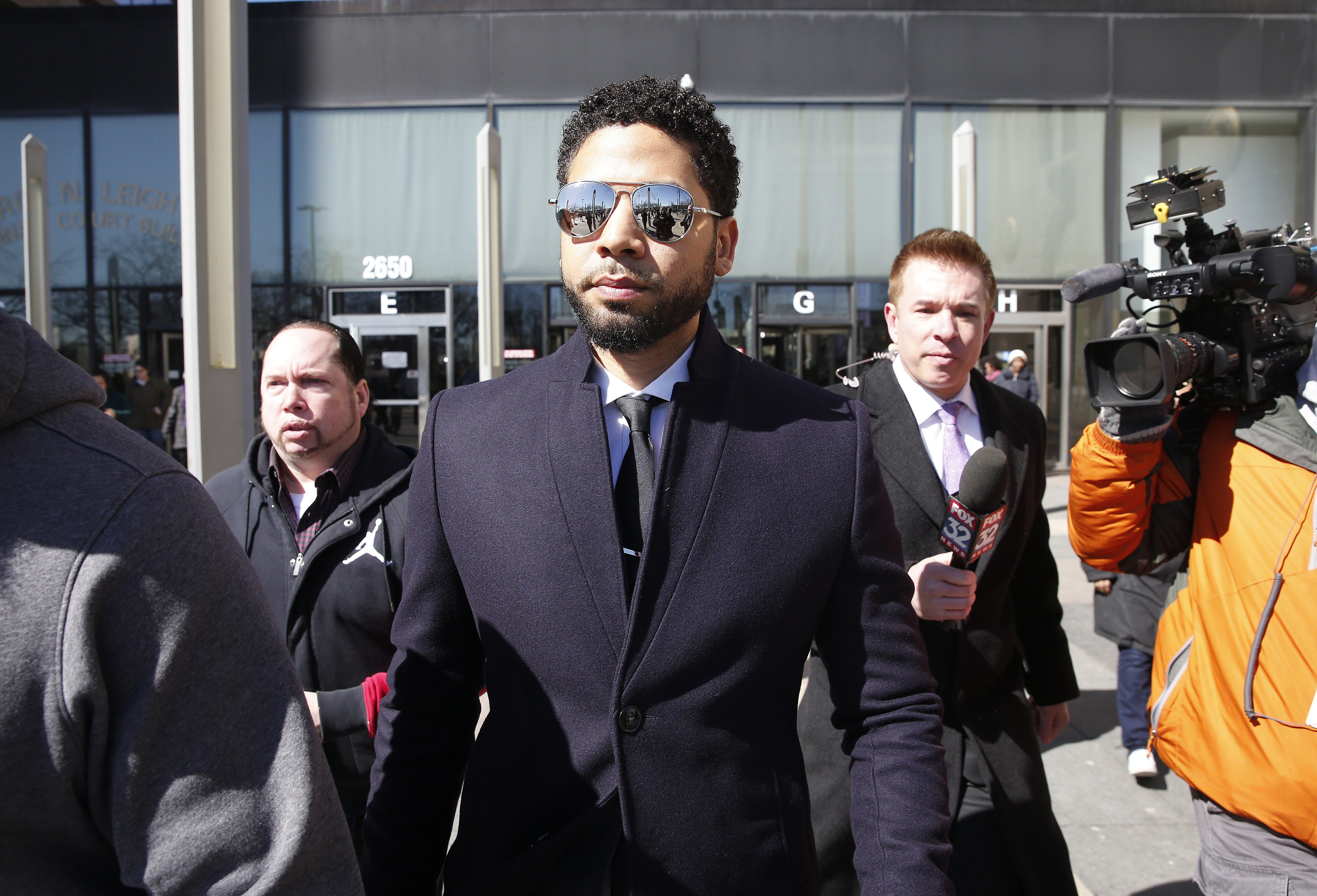 Jussie Smollett's legal team expected to file motion for expungement Thursday