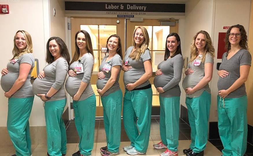 9 Nurses In Maine Hospital's Labor Unit Expecting At The ...