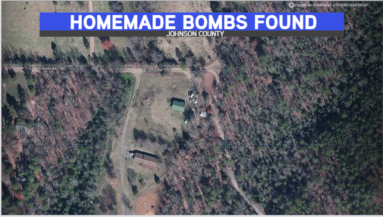 Fort Smith Bomb Squad Defuse Multiple Homemade Bombs In Johnson County Home