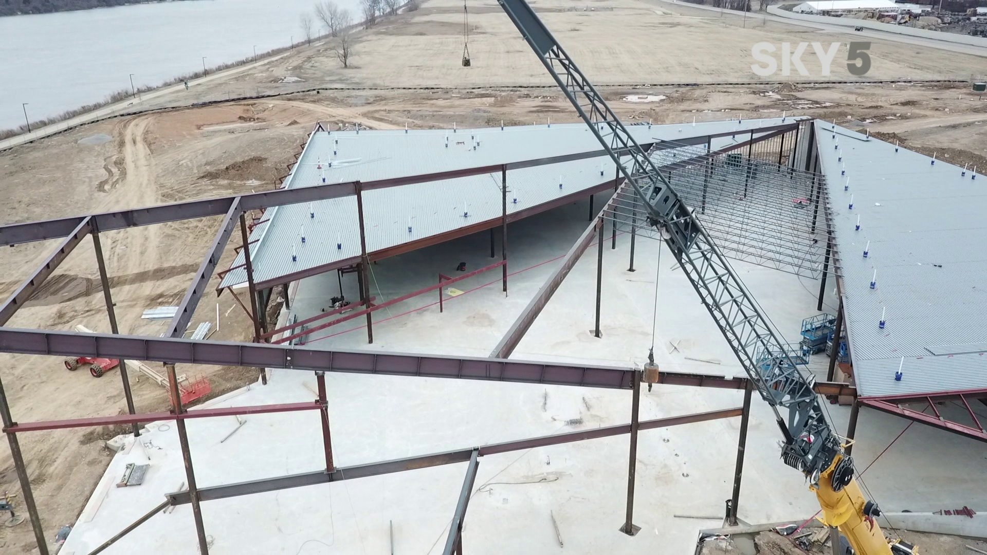 U.S. Marshal Museum construction