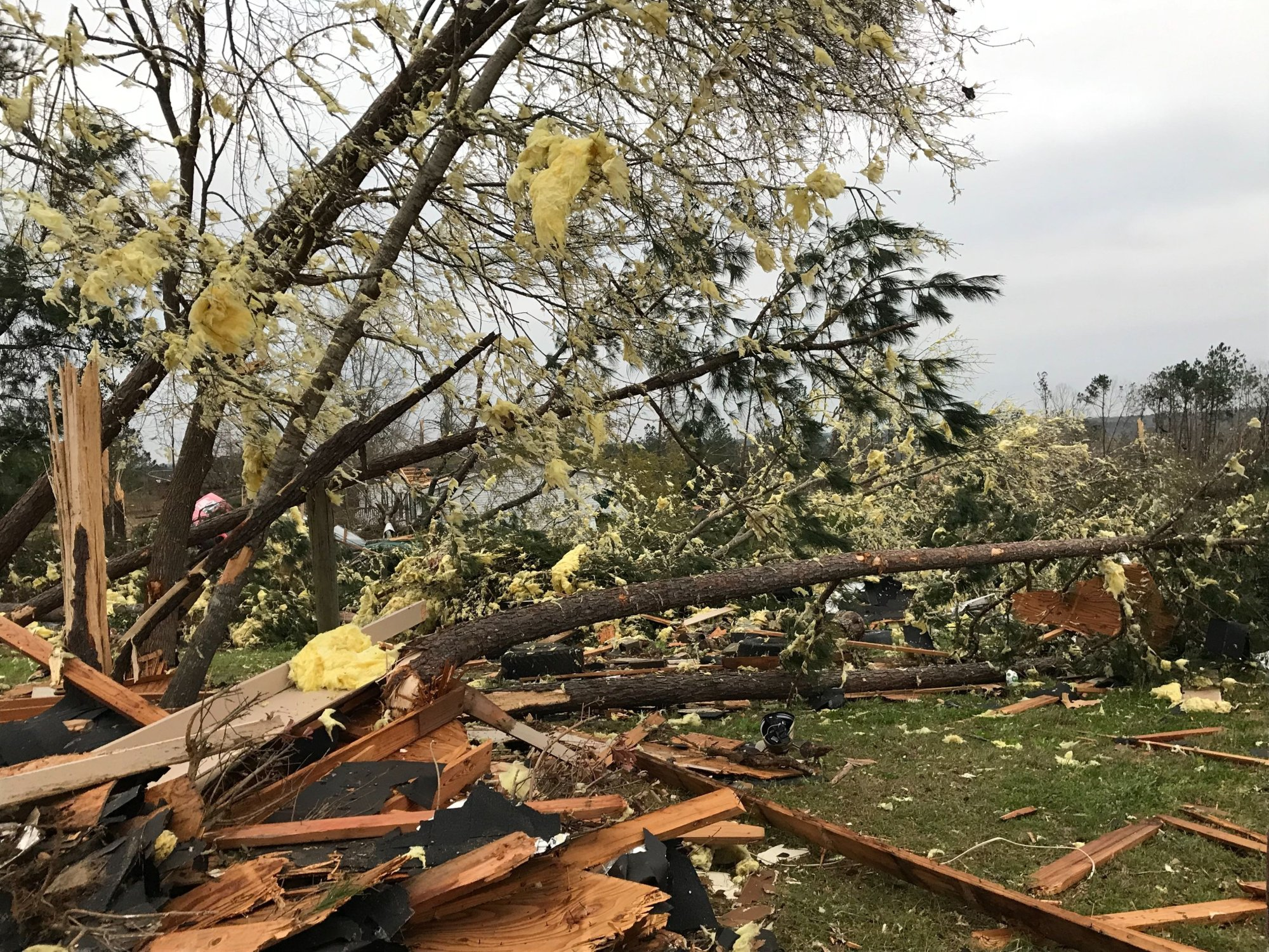 A warning for a second tornado was issued at 3:38 p.m. ET, with the first reports of damage coming 13 minutes later.