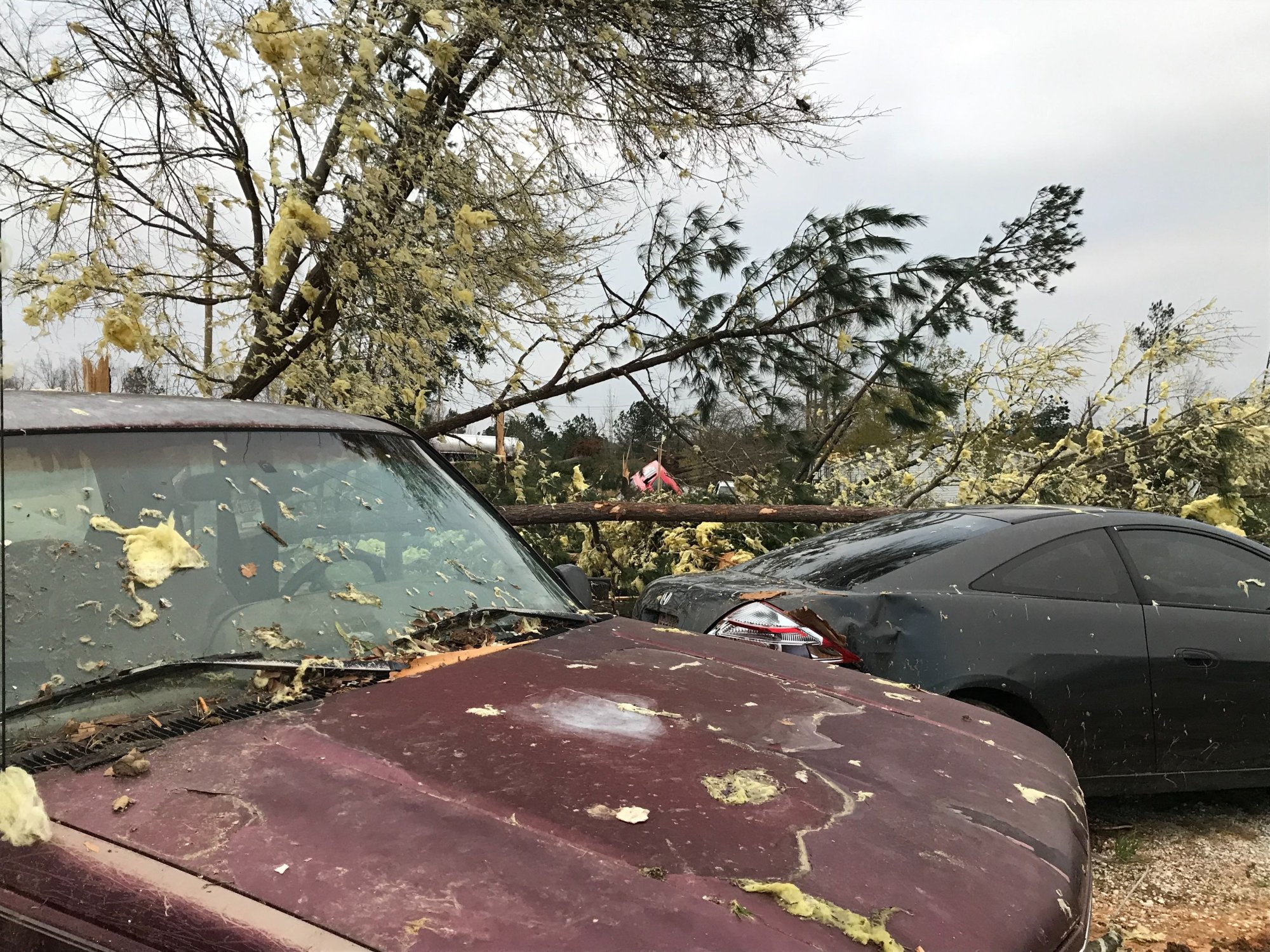 It appeared that two tornadoes hit Lee County back-to-back within the span of an hour, Norman said.