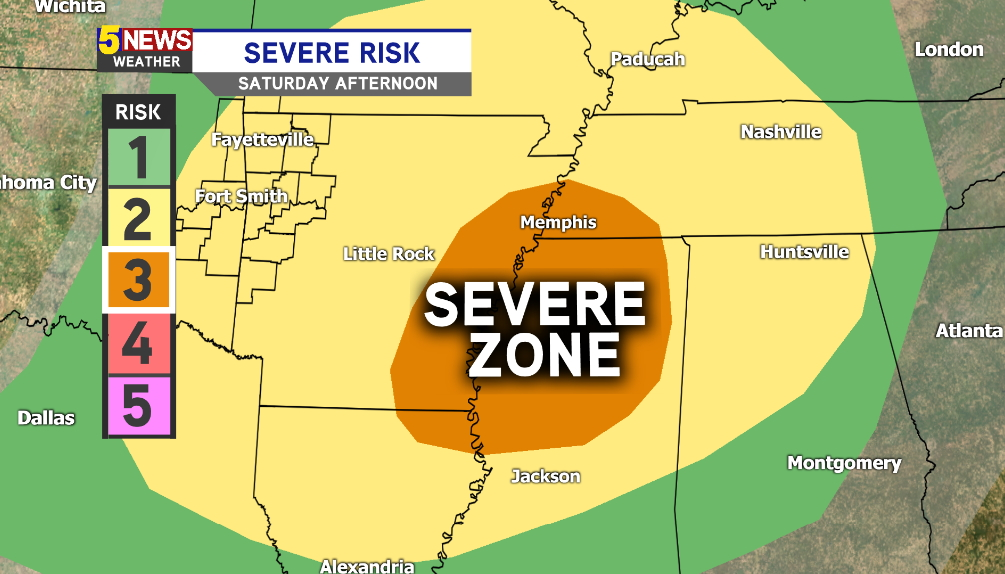 2 tornadoes touch down in central Arkansas