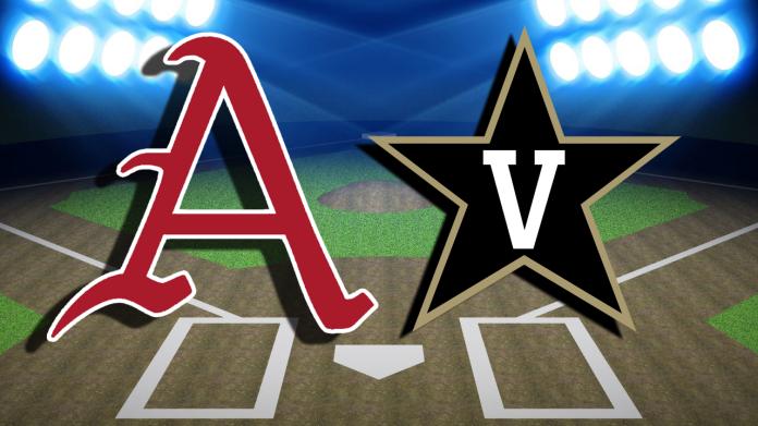 Vanderbilt Rolls Arkansas To Take Series Win