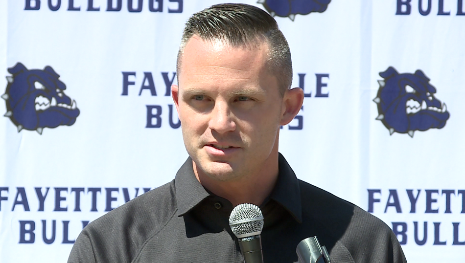 Casey Dick Introduced As Fayetteville Football Coach