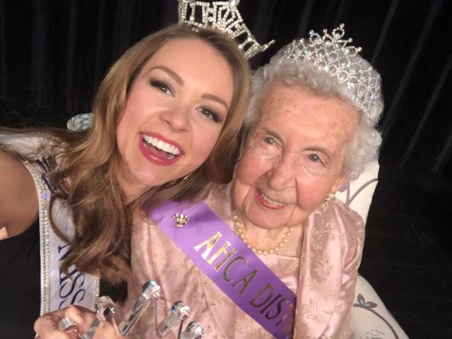 Miss Arkansas and Jessie Pittman