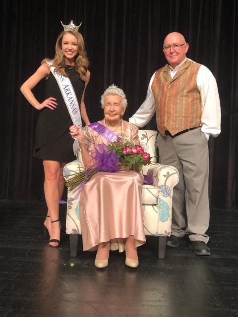 Miss Arkansas, Jessie Pittman and her son Dennis