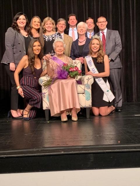Jessie Pittman, Miss Arkansas and judges