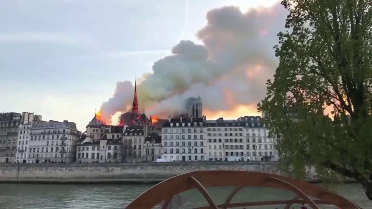Rogers Fire Chief Talks About Battling Fire Like At Notre-Dame Cathedral