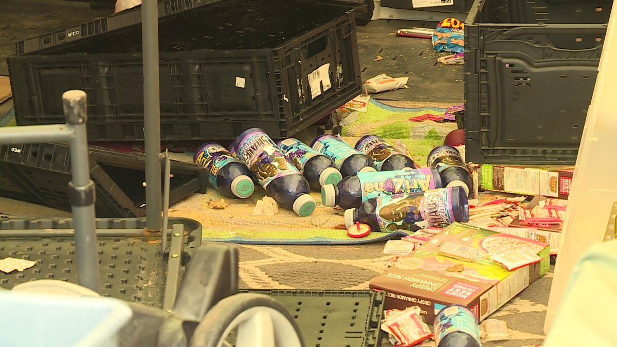 Thieves Steal Food From Fort Smith Donation Center