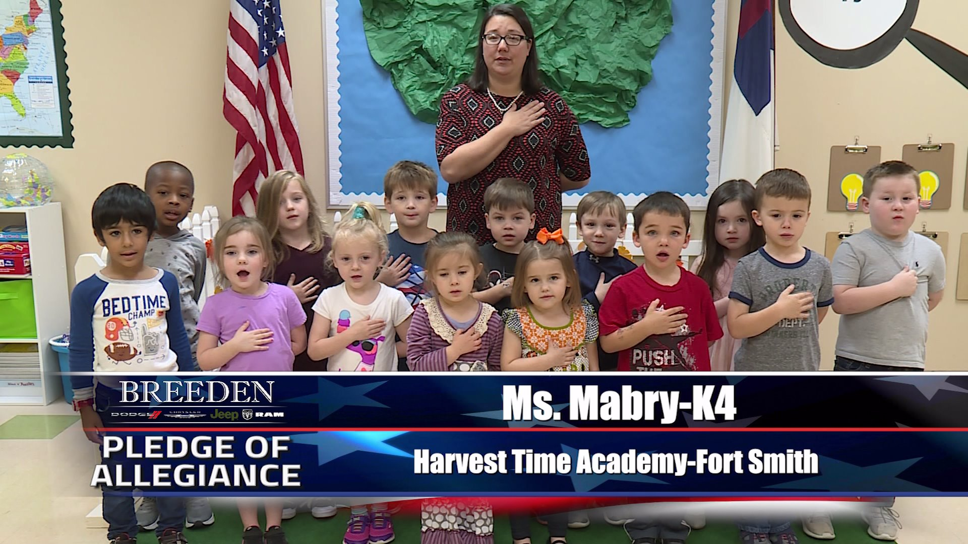 Ms. Mabry – K4 Harvest Time Academy, Fort Smith