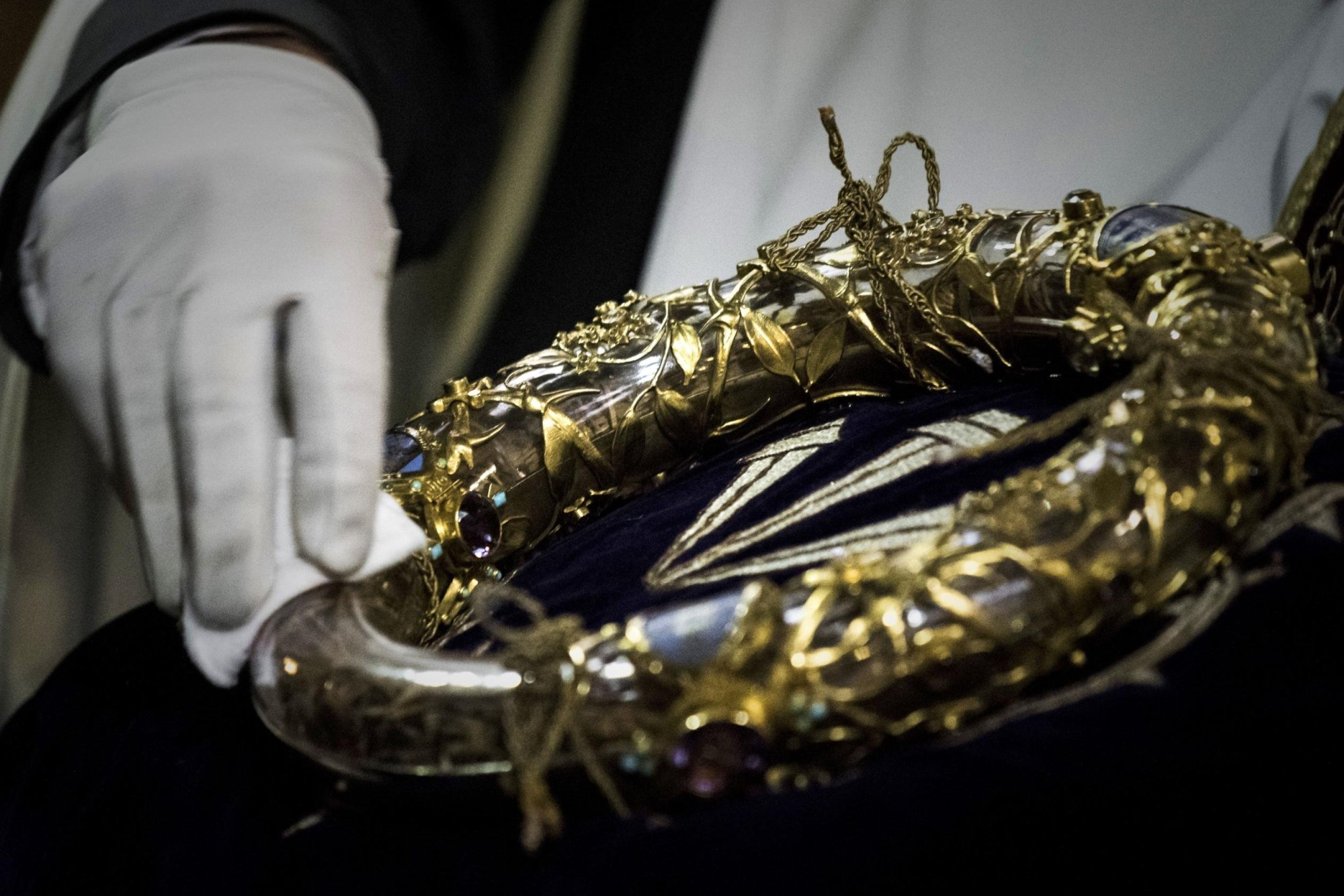 The Crown of Thorns is a relic of the passion of Christ.