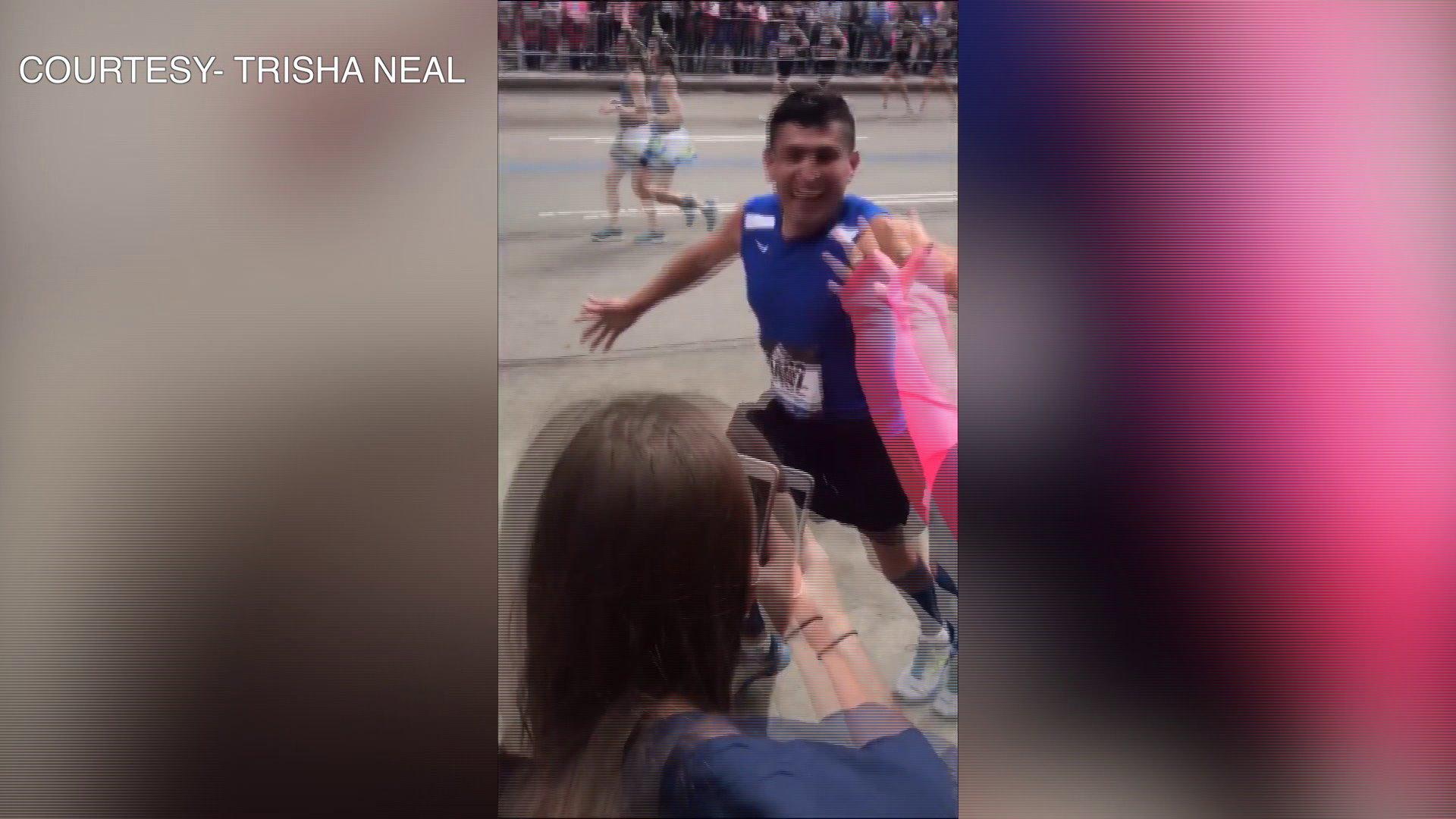 Southside Custodian Runs In Historic Boston Marathon thumbnail