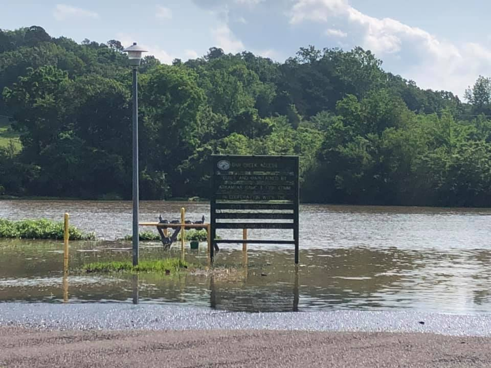 Gar Creek Park (Courtesy of the Ozark Police Department)