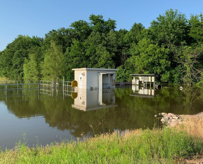 Alma Trash Pickup To Be Delayed; Wastewater Pump Station Flooding, But Rest Of System Working