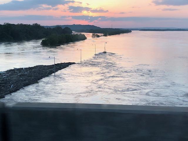 Arkansas River from Van Buren to Barling. (Courtsey of Charles Quinlivan)