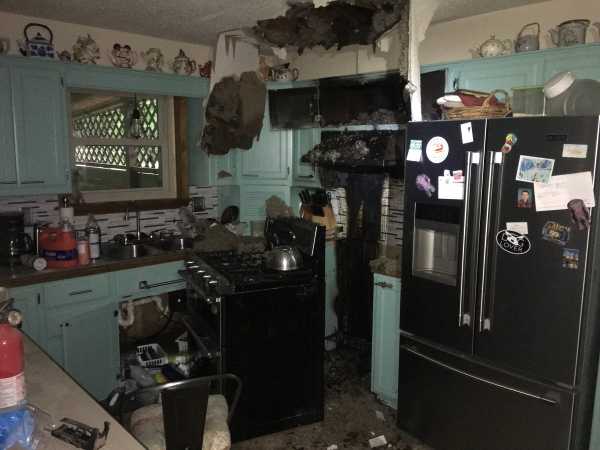 Lightning Strike Damages Rental Home In Alma