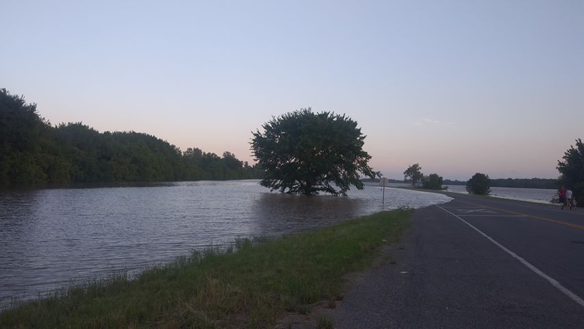 Dora Rd. from Van Buren to Fort Smith. Courtesy of Haley Peerson.  5-24-19