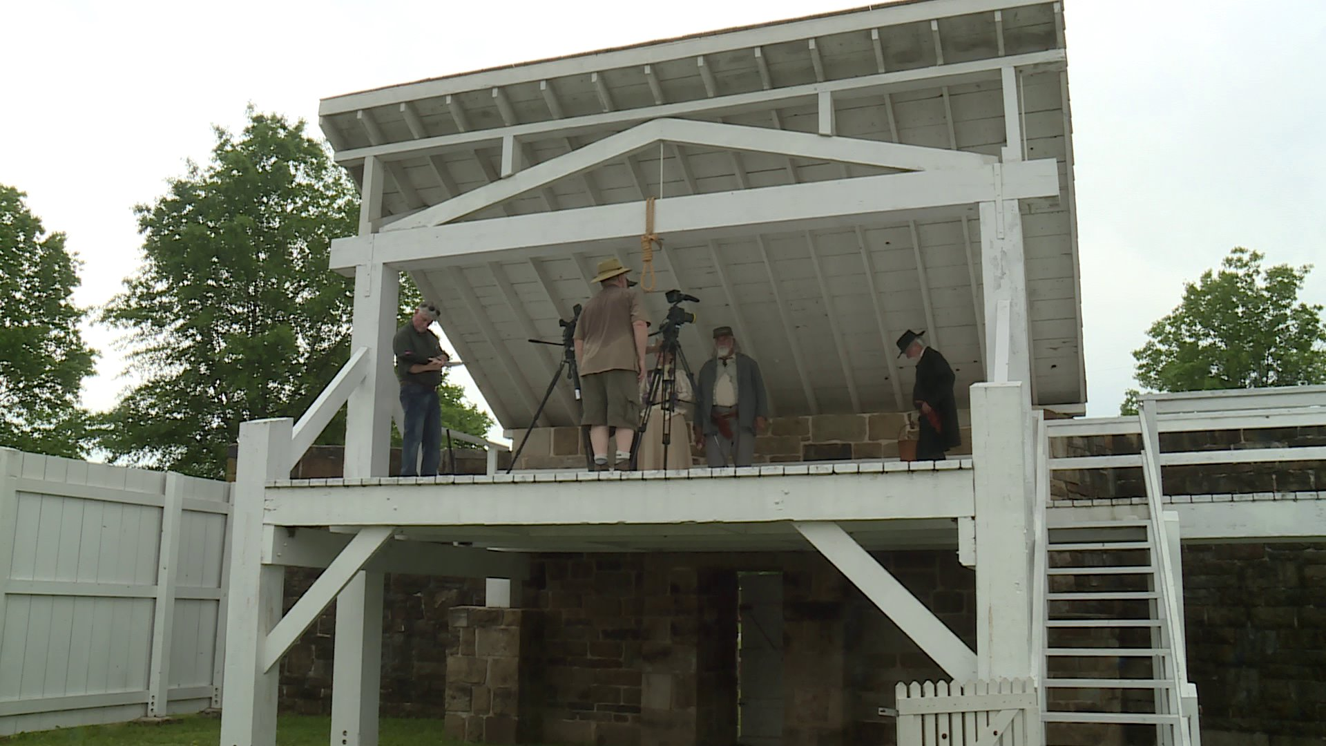 Documentary On Judge Parker Being Filmed In Fort Smith