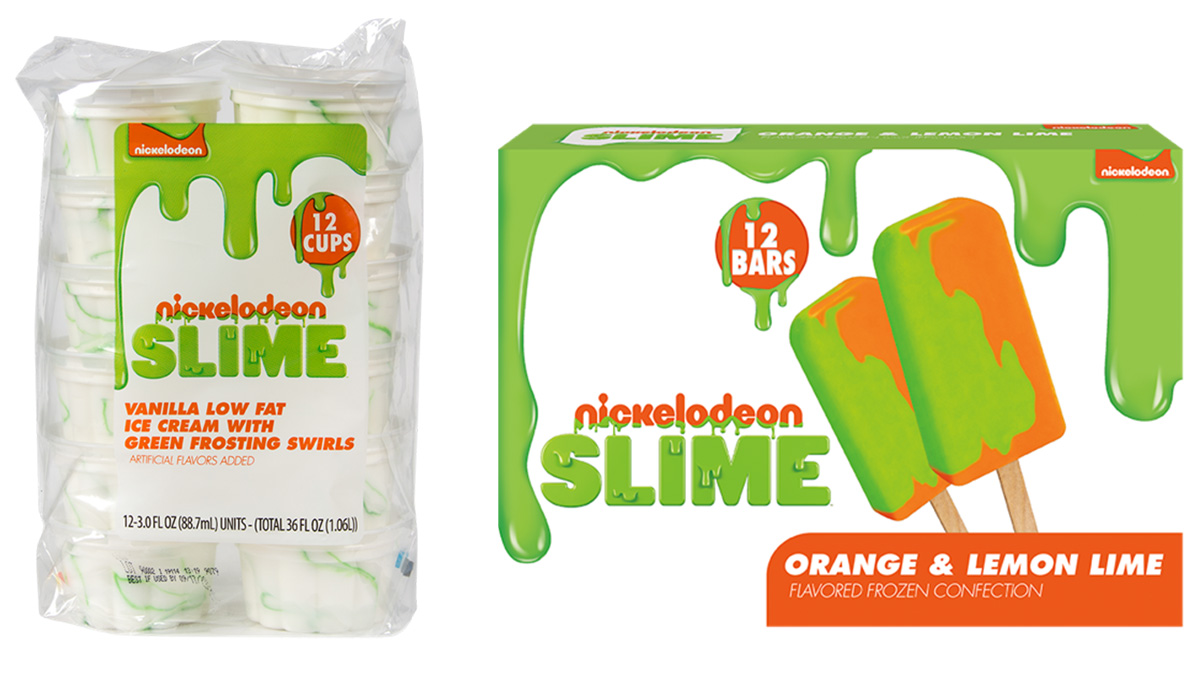 Nickelodeon's Green Slime Comes To Your Freezer As Frozen