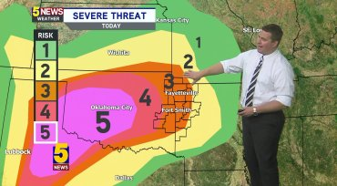 Tornado Touches Down In Texas As Severe Storm System Threatens