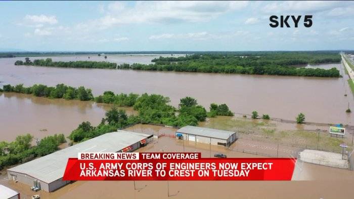 River Levels Now Above 1990 And 2015 Floods