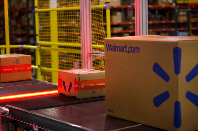 Walmart's Online Sales Are Surging Heading Into Holidays