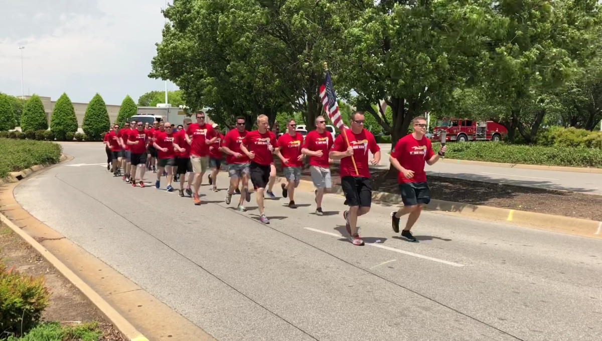 Arkansas Law Enforcement Torch Run Underway To Help Support Special Olympics