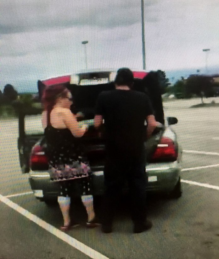 Police Searching For Couple Who Stole Generator In Fort Smith Target Parking Lot