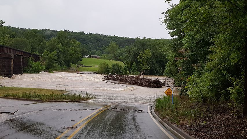Lancaster Bridge near Mountainburg, Courtesy Teresa Birdtail.