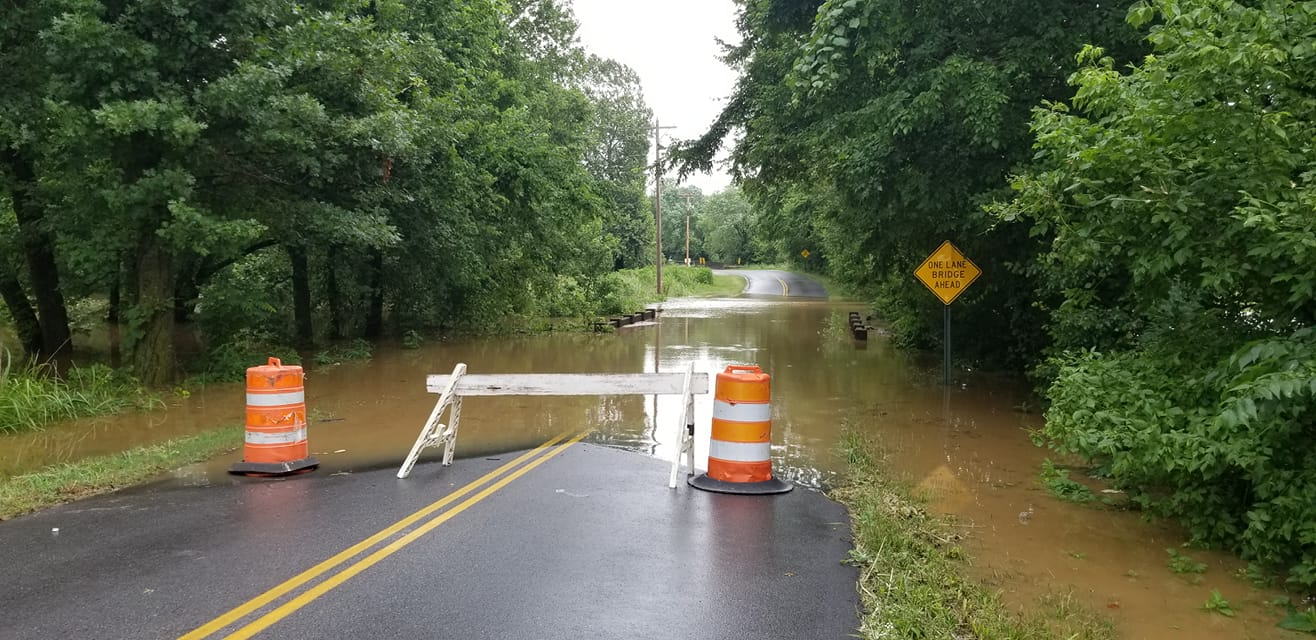 East 1st Street in Elkins, Courtesy of Elkins PD