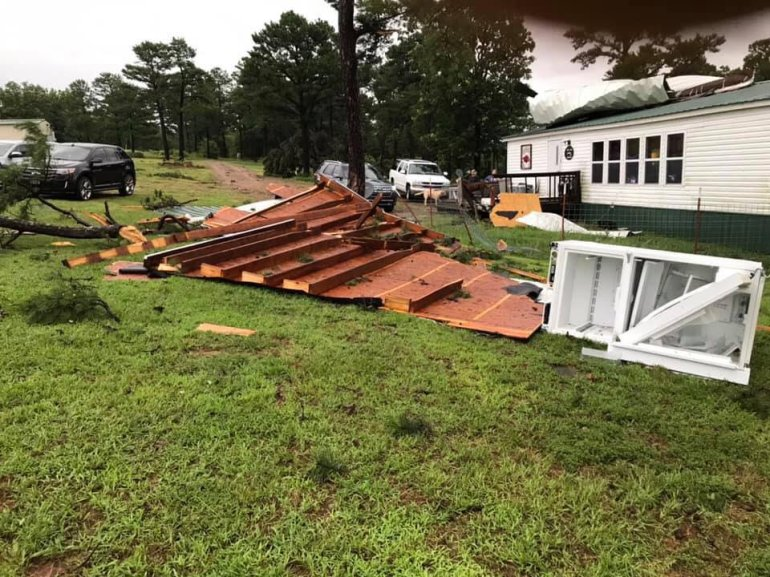 Tornado Damage - Logan County