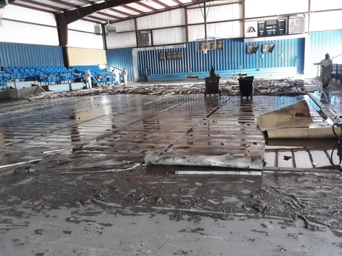 Moffett School Destroyed By Flood, Community Coming Together To Rebuild