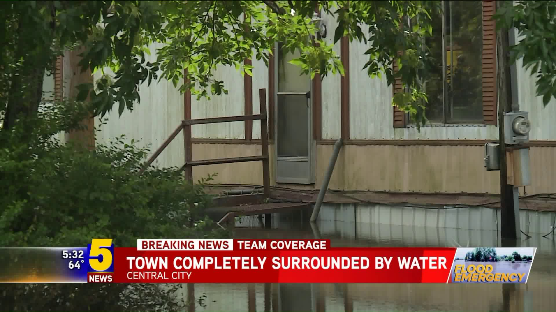 Central City Residents Focus On Family, Friends During Flooding Aftermath thumbnail