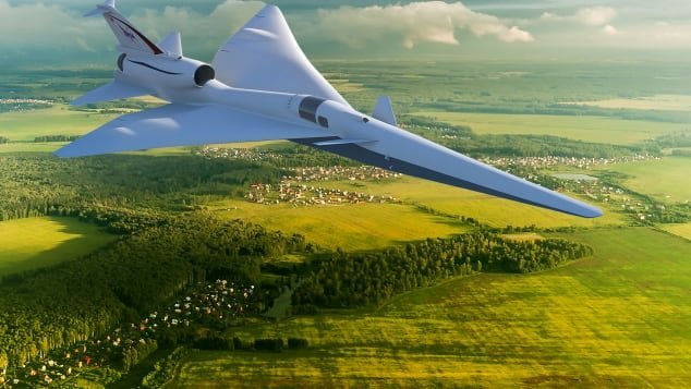 The QSTA will leverage research from NASA's X-59 project.