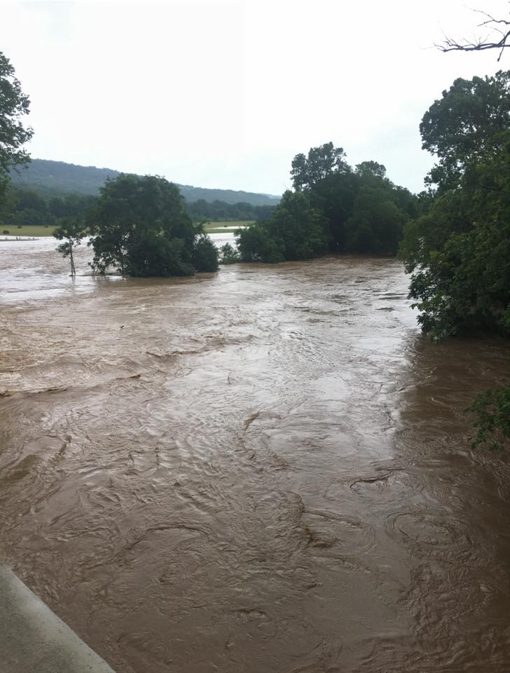 Woolsey Bridge in West Fork, Courtesy of Washington County Sheriff's Office