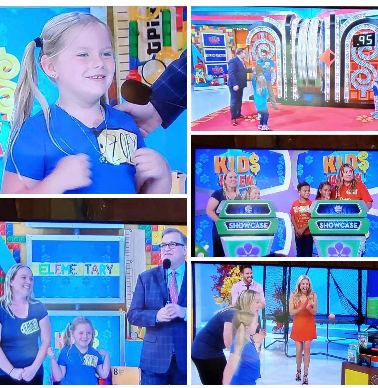 """Zoey and Jeannette Gragg won big on """"The Price Is Right."""""""