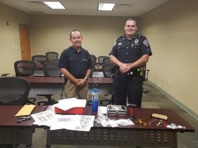 Parolee Arrested After Drug Paraphernalia, Counterfeit Cash Found In Clarksville Home
