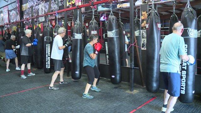 Springdale Boxing Class Helping Parkinson's Patients Fight Back Against Disease