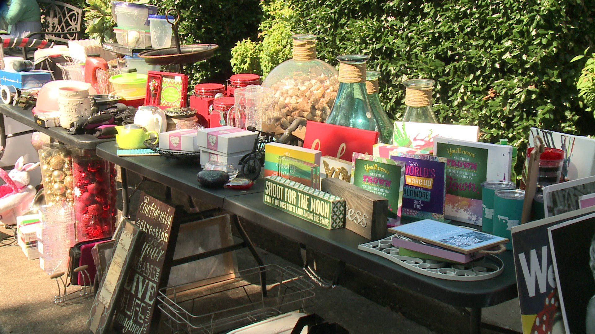 NWA American Heart Affiliation Hosts Yard Sale To Elevate Money thumbnail