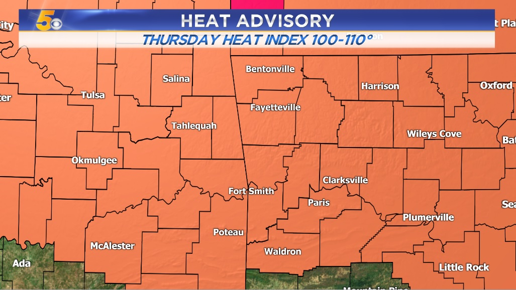 WATCH: Heat Continues Today But Relief Arrives Next Week