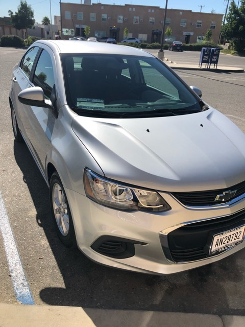 """This Chevrolet Sonic was won by the Graggs on """"The Price Is Right."""""""