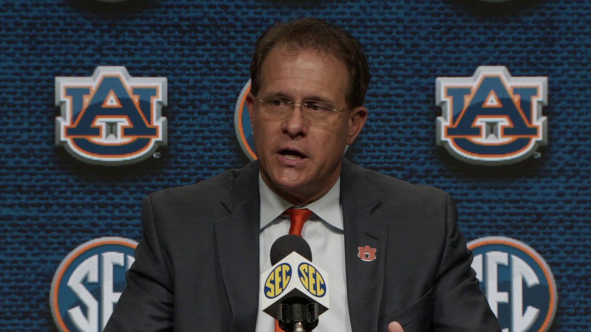 SEC Media Day: Gus Malzahn Previews 7th Season At Auburn thumbnail