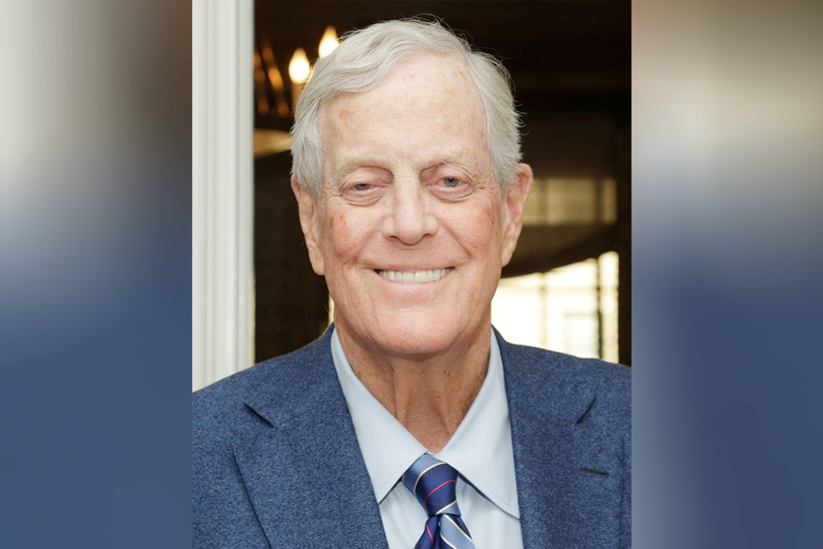 Charles David Koch We Know Who You Are >> Billionaire Conservative Donor David Koch Dies At Age 79 Fort