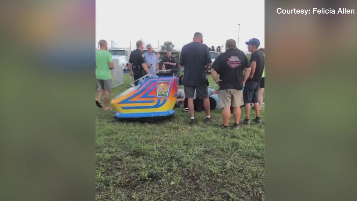 Benton County Fair Ride Shut Down After Family Injured