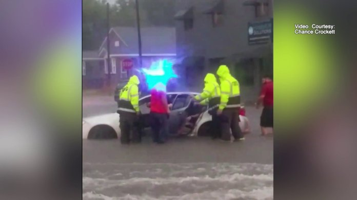 Heavy Rain, Flash Flooding Causes Chaos In Fort Smith